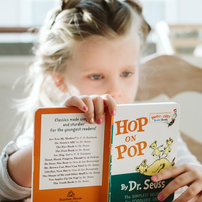 Strong Start - Chances PEI - children's literacy
